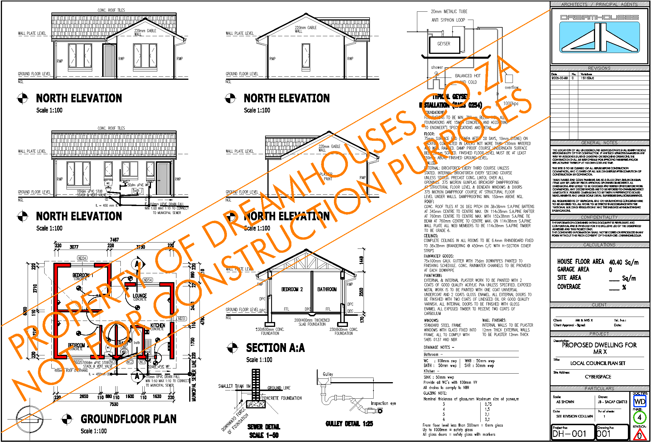 South African House Plans South African House Plan Example In Accordance With The