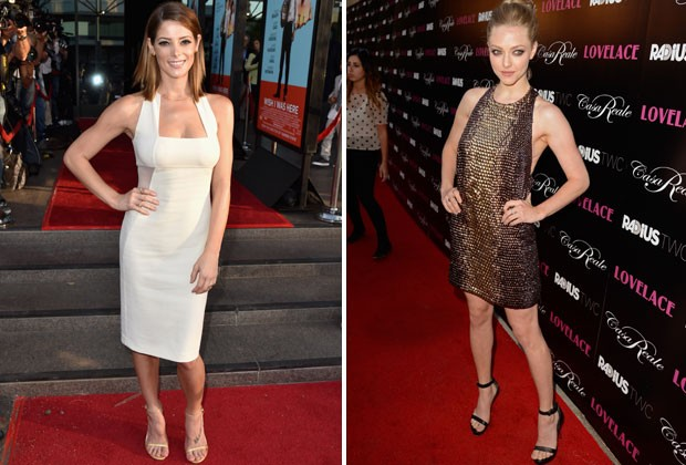 PILATES NÃO PODE FALTAR NA ROTINA DE ASHLEY GREENE E AMANDA SEYFRIED (Foto: Getty Images)
