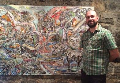 L'exposition «Ces saveurs qui surgissent» de Jean-Michel Caron, présentée au Moulin Marcoux jusqu'au 14 septembre