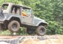 Dame nature n'arrête pas les passionnés du mud drag à Saint-Raymond