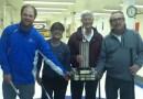 Curling : l'équipe de Raymond Paré emporte le Tournoi d'ouverture