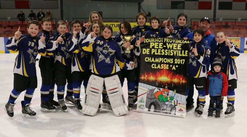 Lynx Champions tournoi Plessisville