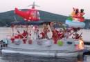 Près de 100 bateaux défilent sur le lac Sept-Îles