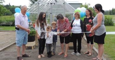 Sainte-Christine-d'Auvergne inaugure une serre communautaire
