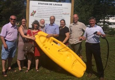 Lac Simon : une station de lavage pour préserver la qualité de l'eau