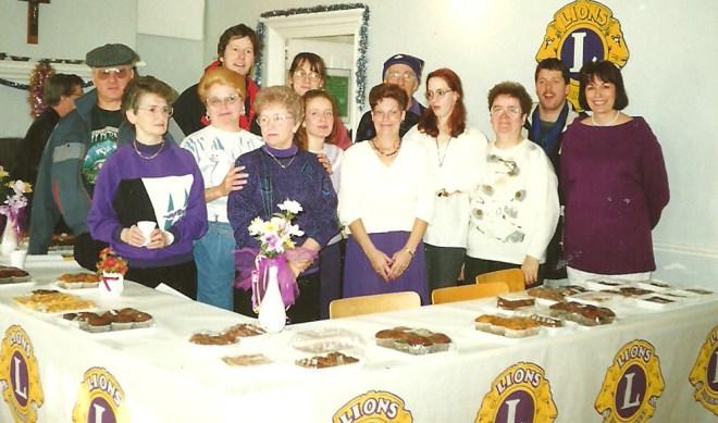 Vente pâtisseries Lions 1990