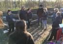 Départ canon pour le potager de la forêt nourricière
