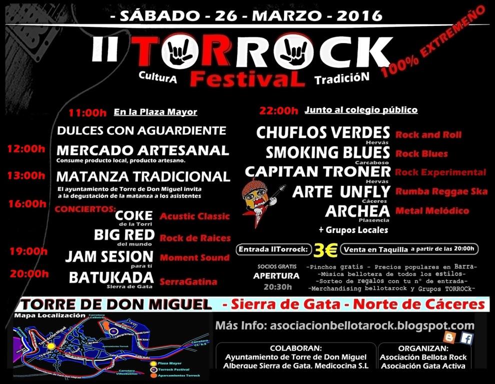 Festival de Rocl Torre de Don Miguel,
