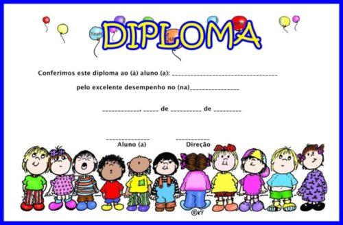 diplomas de graduación para niños descargar vectores premium37