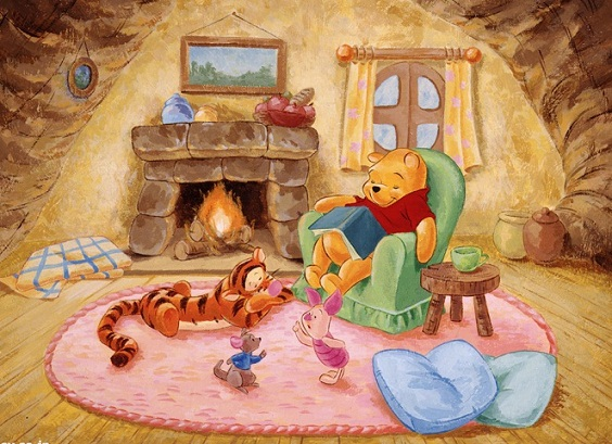Winnie The Pooh Fall Desktop Wallpaper Im 225 Genes De Winnie Pooh Para Imprimir O Descargar