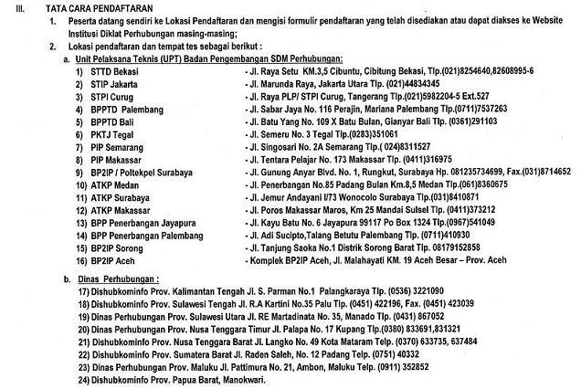 Pengumuman Cpns Jateng 2013 Terbaru Cpns2016com Website Cpns 2016 Online Pengumuman Pendaftaran Sipencatar Taruna Baru Kementerian Perhubungan