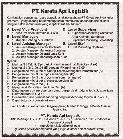 Lowongan Kerja Tingkat Sma Palembang 2013 Lowongan Kerja Loker Terbaru Bulan September 2016 Info Lowongan Kerja Depnaker Resmi Terbaru Juli 2015 Share The