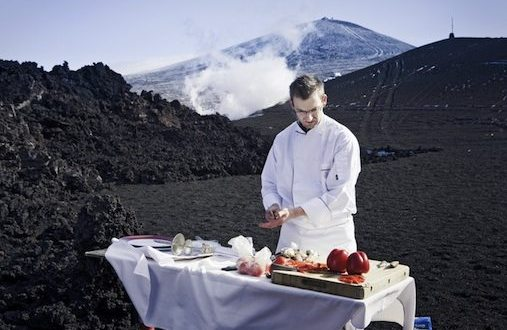 Lava Cooked Food