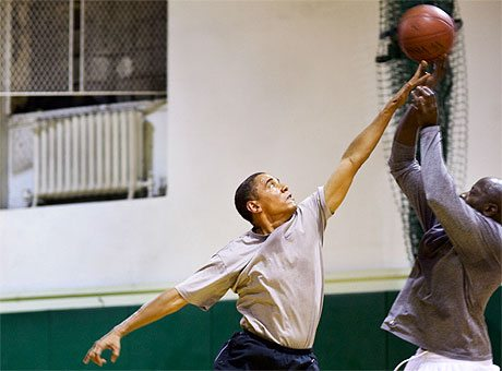 President Obama: Basketball Coach 'In Chief'