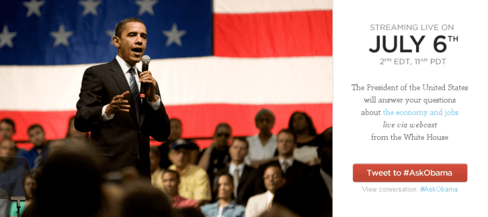 #AskObama – White House Town Hall
