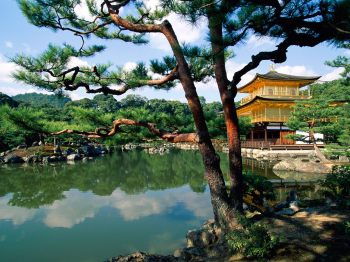 Kinkaku ji Temple Kyoto Japan 350x262 Want a Free Trip to Japan? 10,000 Chances to Win.