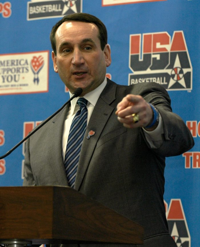 Coach K to step down after London Games