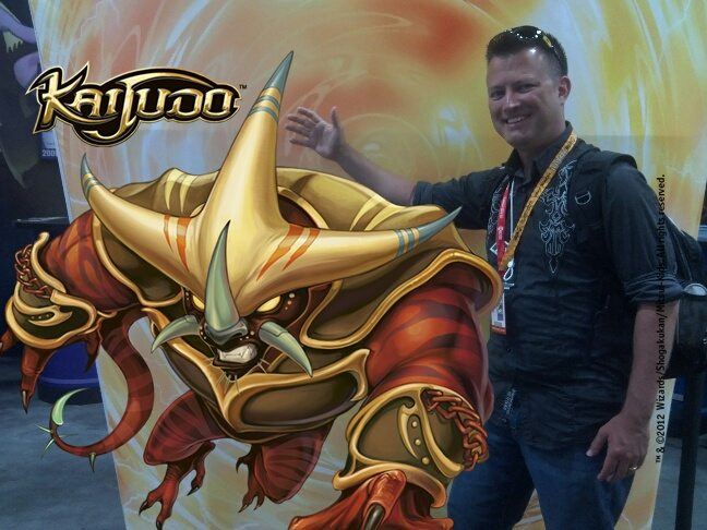 KAIJUDO IMAGE 60FA 687 07112012062309 C Lance with Tatsurion the Unchained