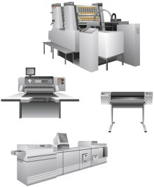 Printing Equipment Illustrations