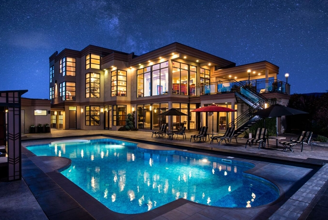 Cloudy Weather Hd Wallpapers Multi Million Dollar Okanagan Dream House Up For Auction