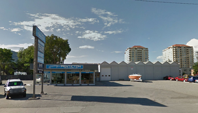 City Renting Former Penticton Auto Sales Building To - Car Rental Penticton