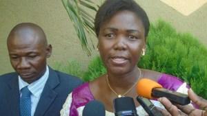 La représentante du ministre en charge de la Justice, Bibata Nebié