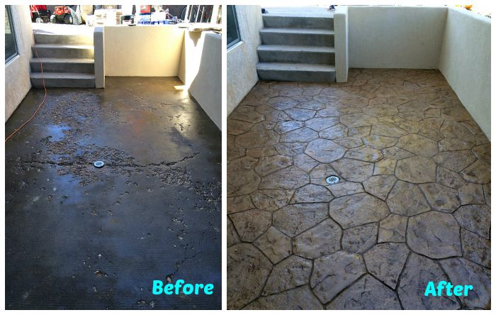Diy Stamped Concrete Tile Tutorial Info You Should Know