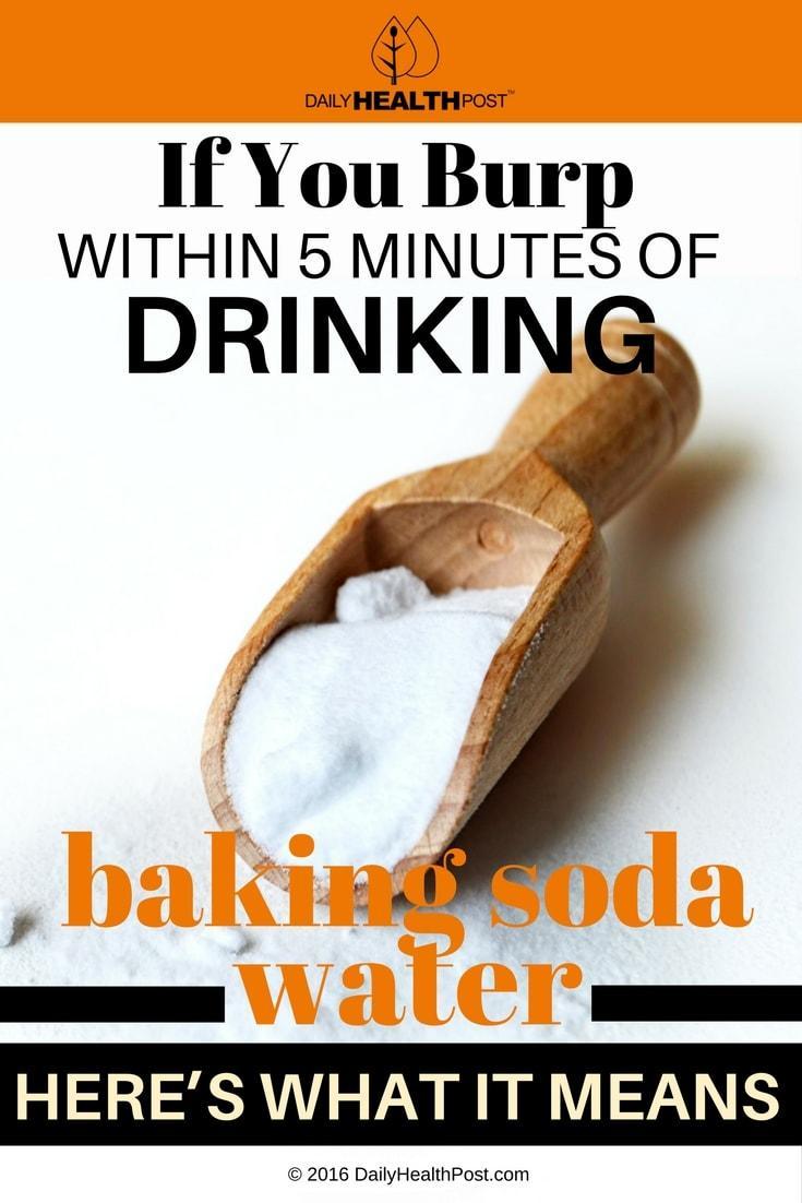 Drinking Soda Acid Reflux