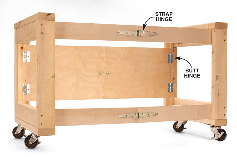 Charmant How To Build A Folding Table Base
