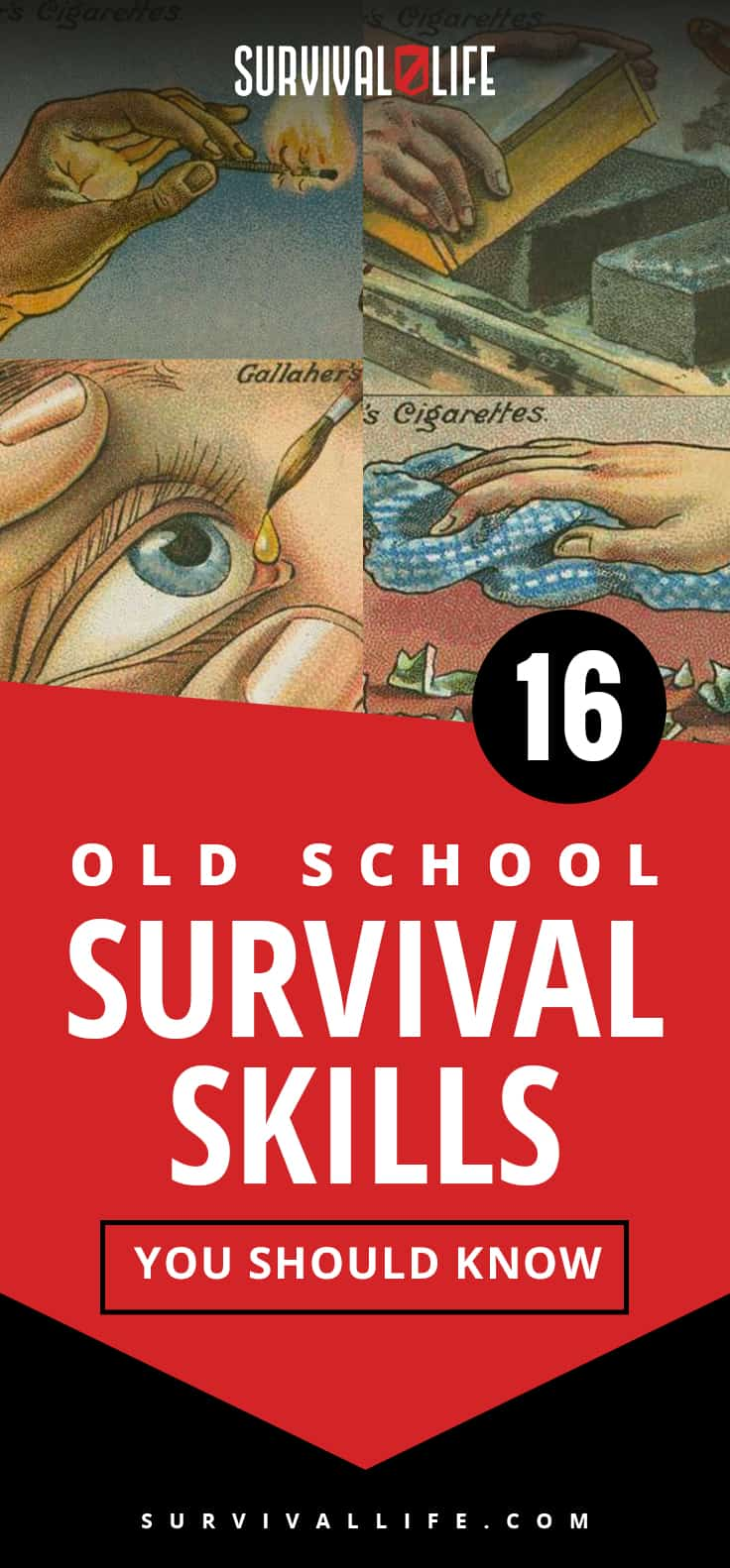 Survival Skills | 16 Old School Survival Skills You Should Know