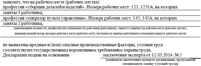 декларация соут скачать бланк - фото 8