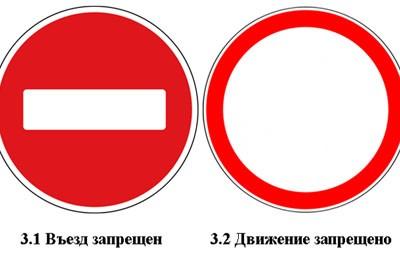 это Можно ли проезжать под знак движение запрещено что среди