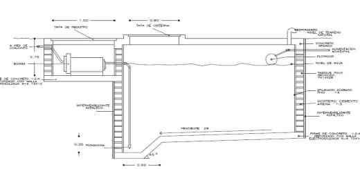 Diseño y construcción de una cisterna