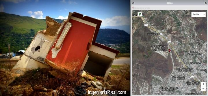 Impresionantes deslizamientos de laderas