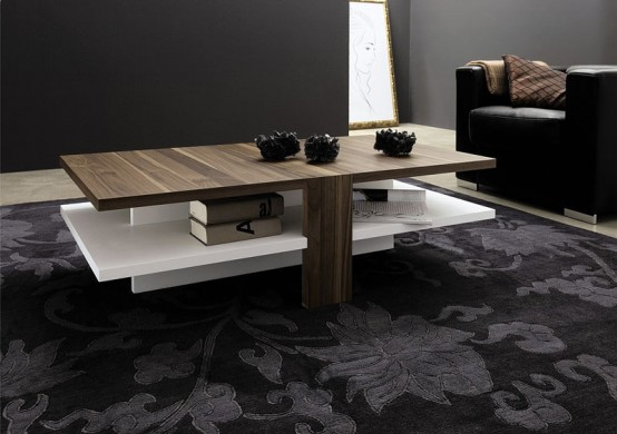 Couchtisch 120 X 120 Modern Coffee Table For Stylish Living Room – Ct 130 From