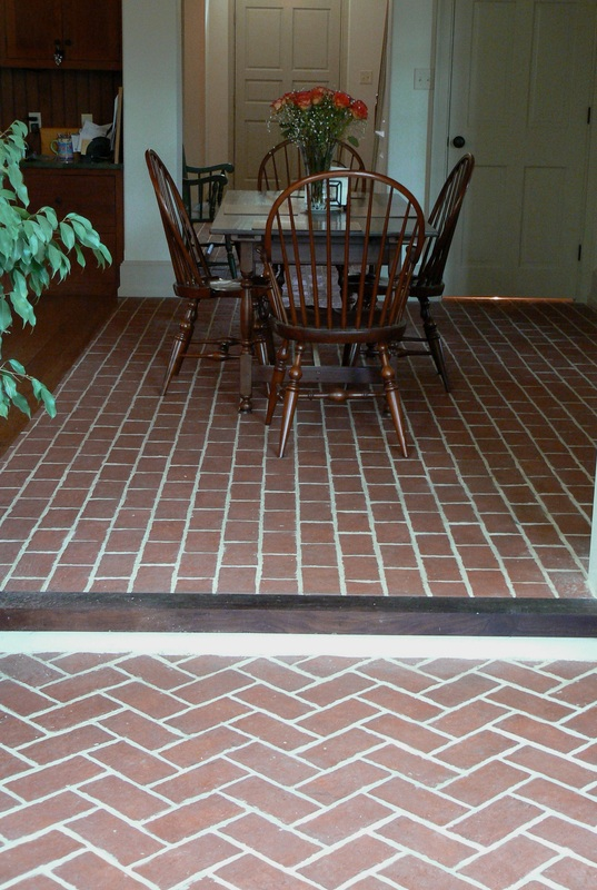 Change Color Of Kitchen Floor Tile Dining Rooms - Inglenook Brick Tiles - Brick Pavers | Thin