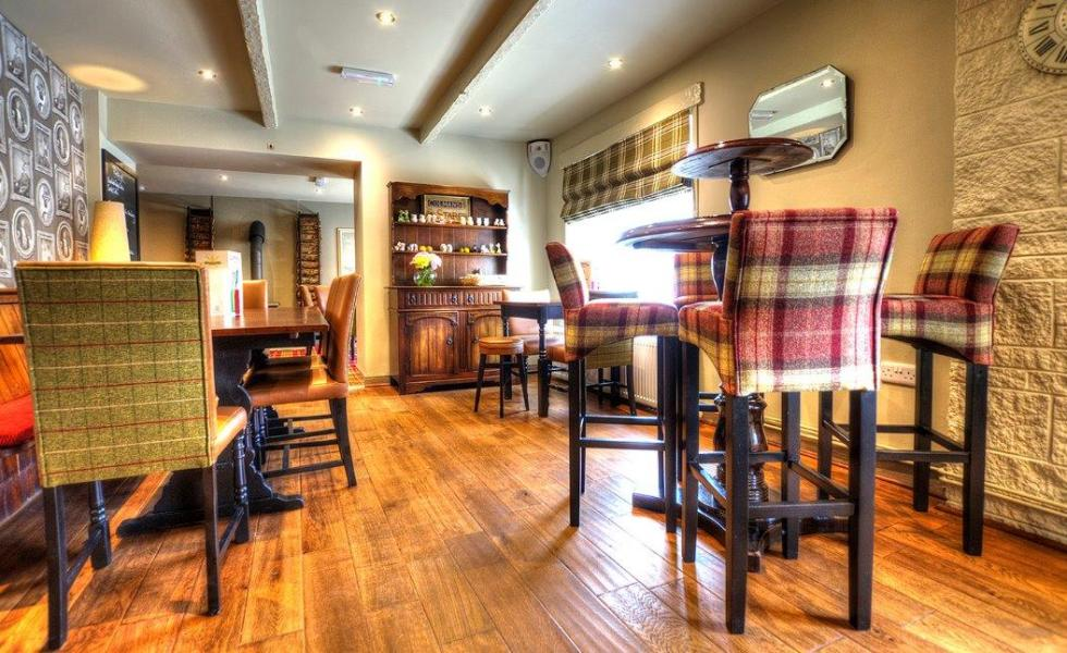 1st meal at  the under-new-ownership Ingleton pub – Masons Arms