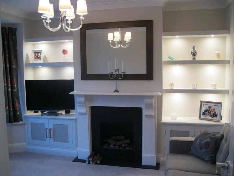 Home Lighting Yorkshire Made To Measure Bookcases Harrogate - Inglish Design