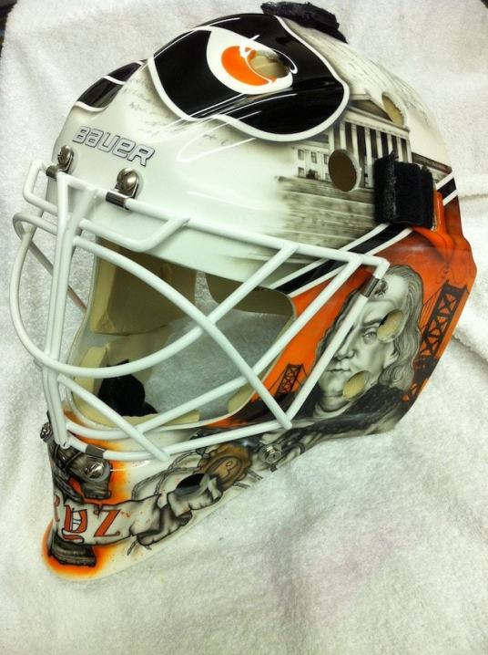 Bryzgalov Flyers Mask by Drummond 4