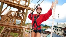 Vail's Challenge Course. Photo courtesy Vail Resorts.