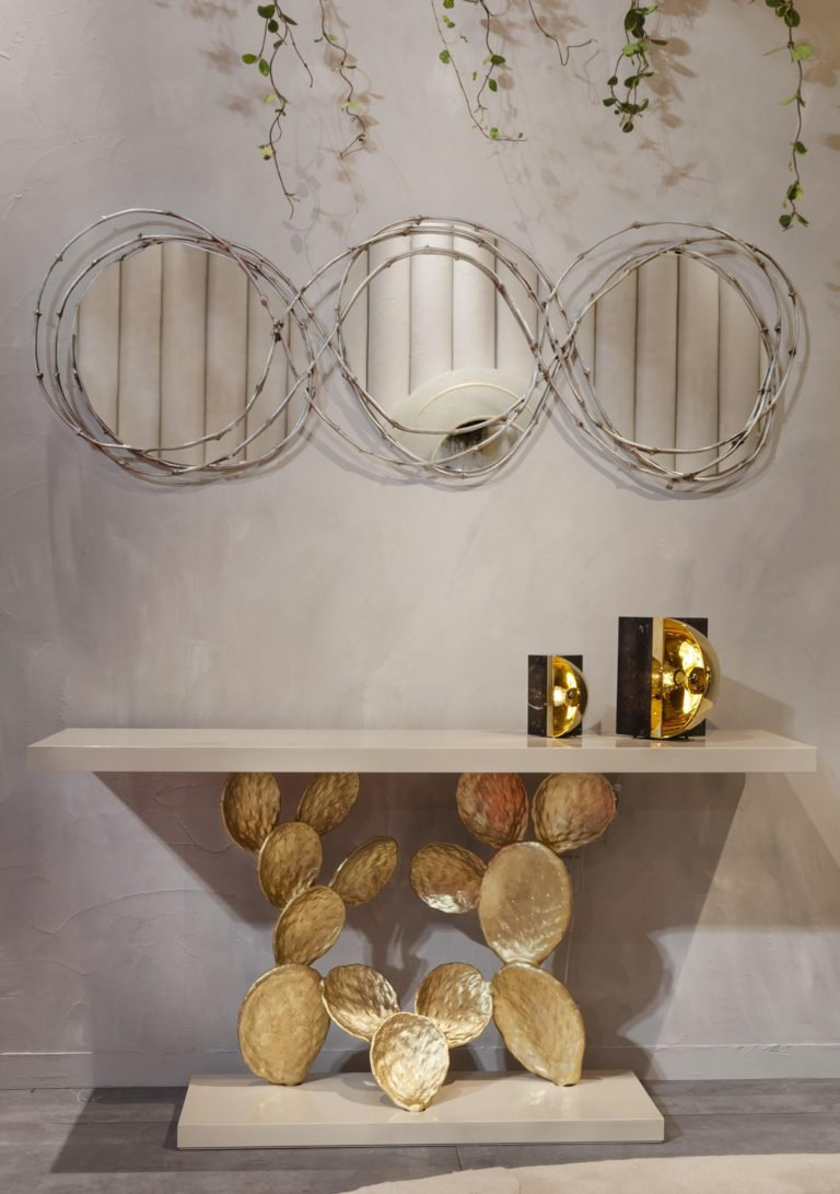 Pressreader Online J Channel Add Character To Your Wall With Sculptural Mirrors From Ginger Amp Jagger