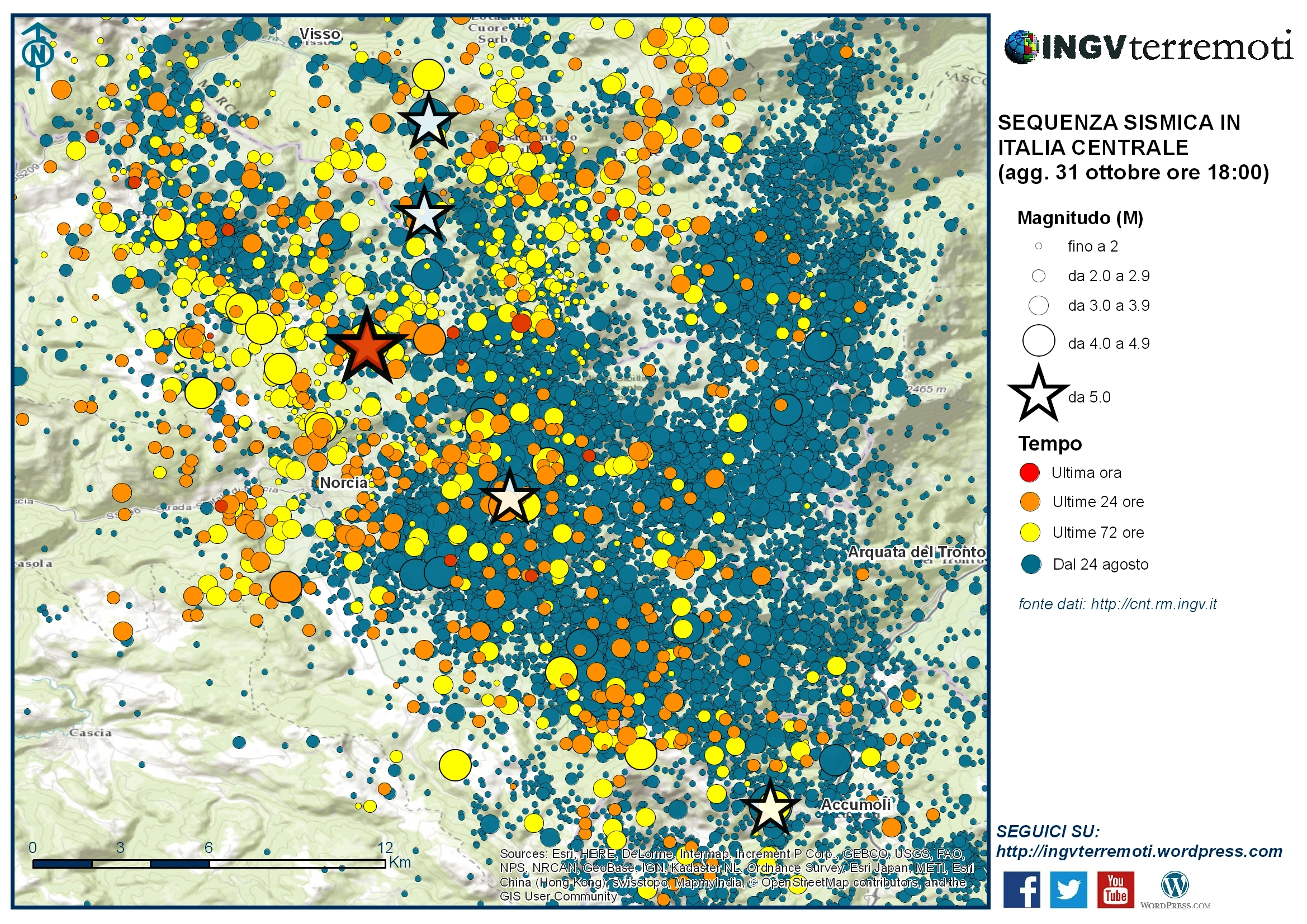 Terremoto, 21.600 scosse dal 24 agosto