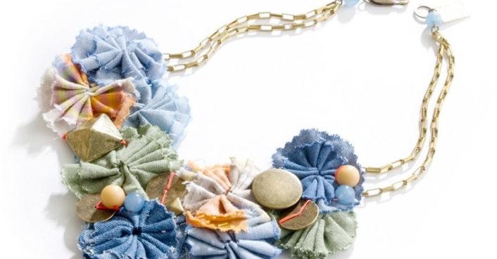 Lizzie Fortunato Jewels For Madewell Denim Necklace