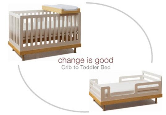 Oeuf Eco Friendly Convertible Crib Inhabitat Green