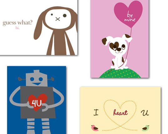 Tiny*Prints Quick Delivery Recycled Valentine\u0027s Day Cards Inhabitots