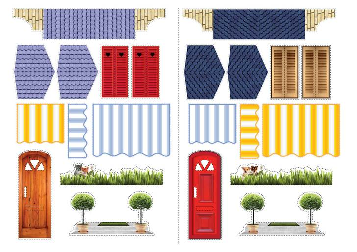 Printables For Doll Houses Barbie Doll House Furniture # 2french