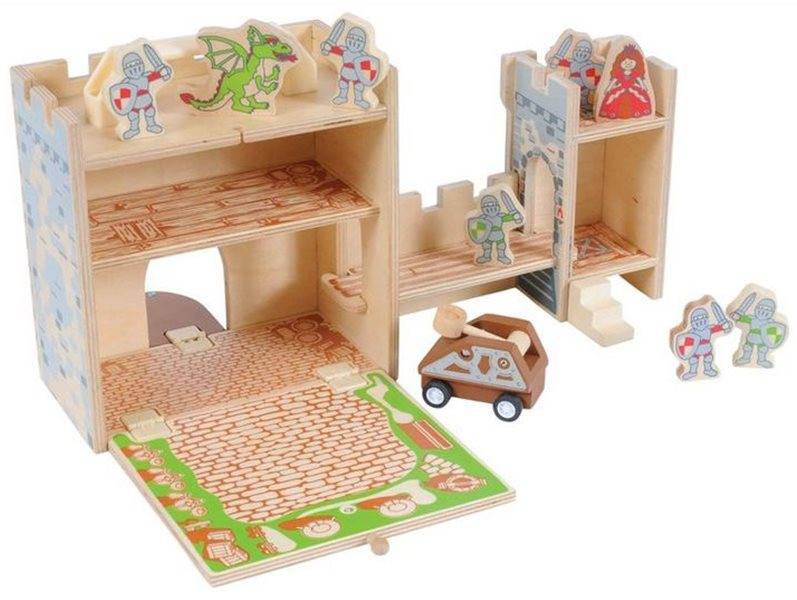 Eco Friendly Castles Large King39s Castle Playset Wood