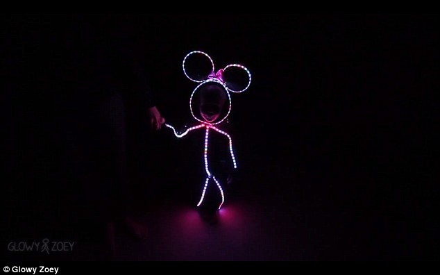 Clever Dad Designs Adorable Led Color Changing Stick