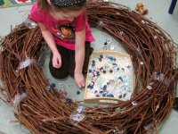 bird nest play area | Inhabitots