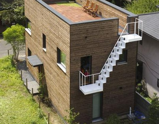 Stehtisch Klappbar Japan Get's Its First Passive House | Inhabitat